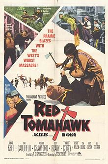 poster Red Tomahawk (1967)