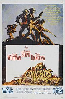 poster Rio Conchos (1964)