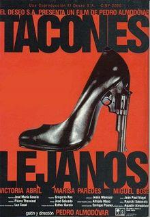 poster Tacones lejanos (1991)