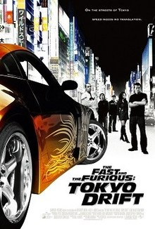 poster The Fast and the Furious Tokyo Drift 2006