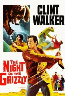poster The Night of the Grizzly (1966)