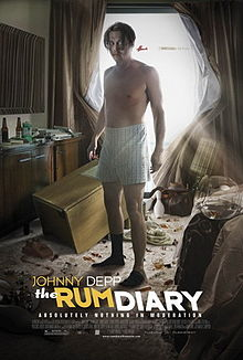 poster The Rum Diary (2011)