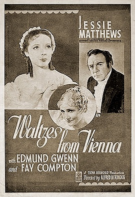 poster Waltzes from Vienna - Strauss' Great Waltz (1934)
