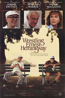 poster Wrestling Ernest Hemingway (1993)