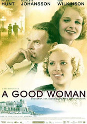 poster A Good Woman (2004)