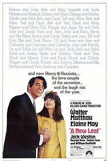poster A New Leaf (1971)