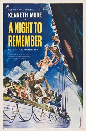 poster A Night to Remember (1958)