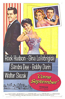poster Come September (1961)