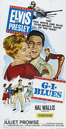 poster G.I. Blues (1960)