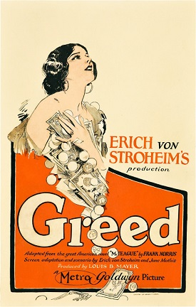 poster Greed (1924)