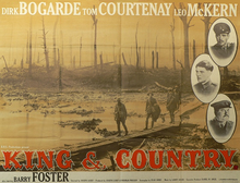 poster King & Country (1964)