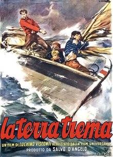 poster La Terra Trema (1948)