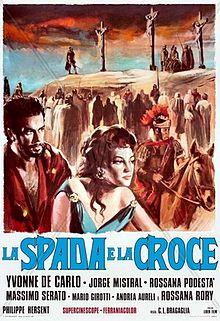 poster La spada e la croce (1958)