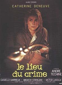poster Le Lieu du crime (1986)