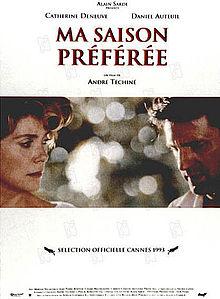 poster Ma saison preferee (1993)