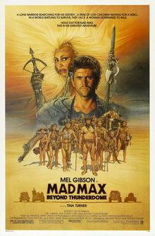 poster Mad Max Beyond Thunderdome aka Mad Max 3 (1985)