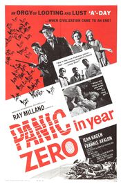 poster Panic in Year Zero (1962)