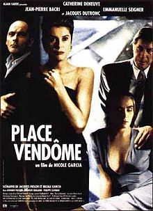 poster Place Vendome - Place Vendôme (1998)
