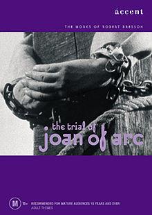 poster Proces de Jeanne d'Arc (1962)