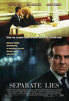 poster Separate Lies (2005)