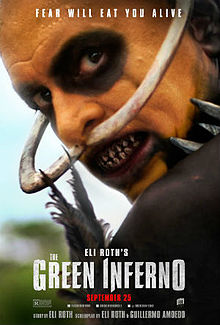 poster The Green Inferno (2013)