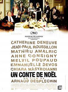 poster Un conte de Noel (2008)