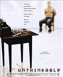 poster Unthinkable (2010)