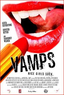 poster Vamps (2012)