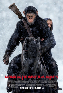 poster War for the Planet of the Apes (2017)