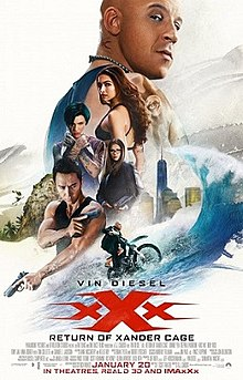 poster xXx Return of Xander Cage (2017)