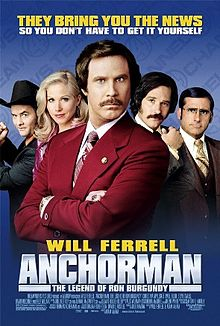 poster Anchorman The Legend of Ron Burgundy (2004)