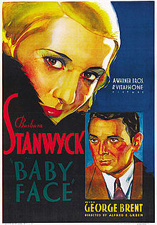poster Baby Face (1933)