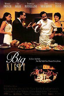 poster Big Night (1996)