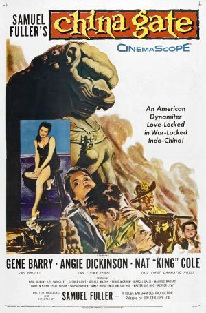 poster China Gate (1957)