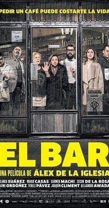 poster El Bar - The Bar (2017)