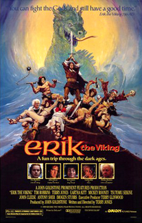 poster Erik the Viking (1989)