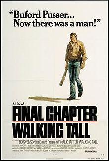 poster Final Chapter Walking Tall (1977)