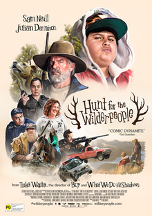 poster Hunt for the Wilderpeople (2016)