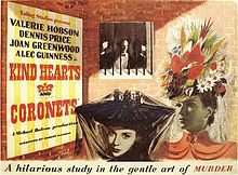 poster Kind Hearts and Coronets (1949)