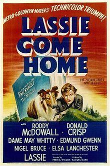 poster Lassie Come Home (1943)