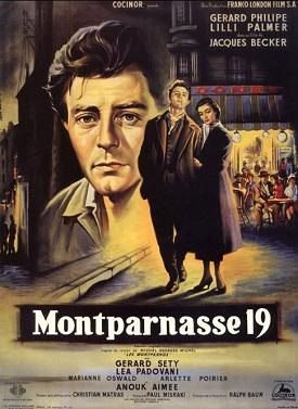 poster Les amants de Montparnasse - Modigliani of Montparnasse (1958)