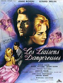 poster Les liaisons dangereuses (1959)