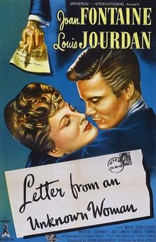 poster Letter From An Unknown Woman (1948)