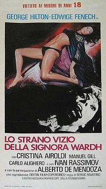 poster Lo strano vizio della Signora Wardh (1971)