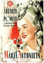poster Marie Antoinette (1938)