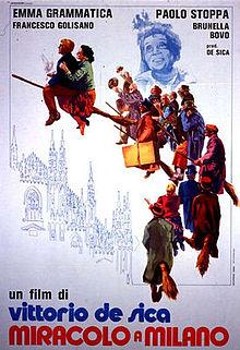 poster Miracolo a Milano (1951)