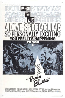 poster Paris Blues (1961)