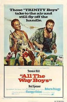 poster Piu forte ragazzi! - ... All The Way, Boys! (1972)