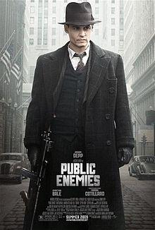 poster Public Enemies (2009)