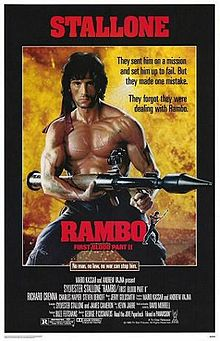 poster Rambo First Blood Part II (1985)